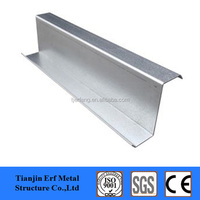 Cold Formed Galvanized Z Beams Bar, Z Profile Steel Roof Purlin