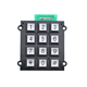 New design Wired USB Metal Numerical 12 keys high quality telephone access control waterproof vandal resistence outdoor keypad