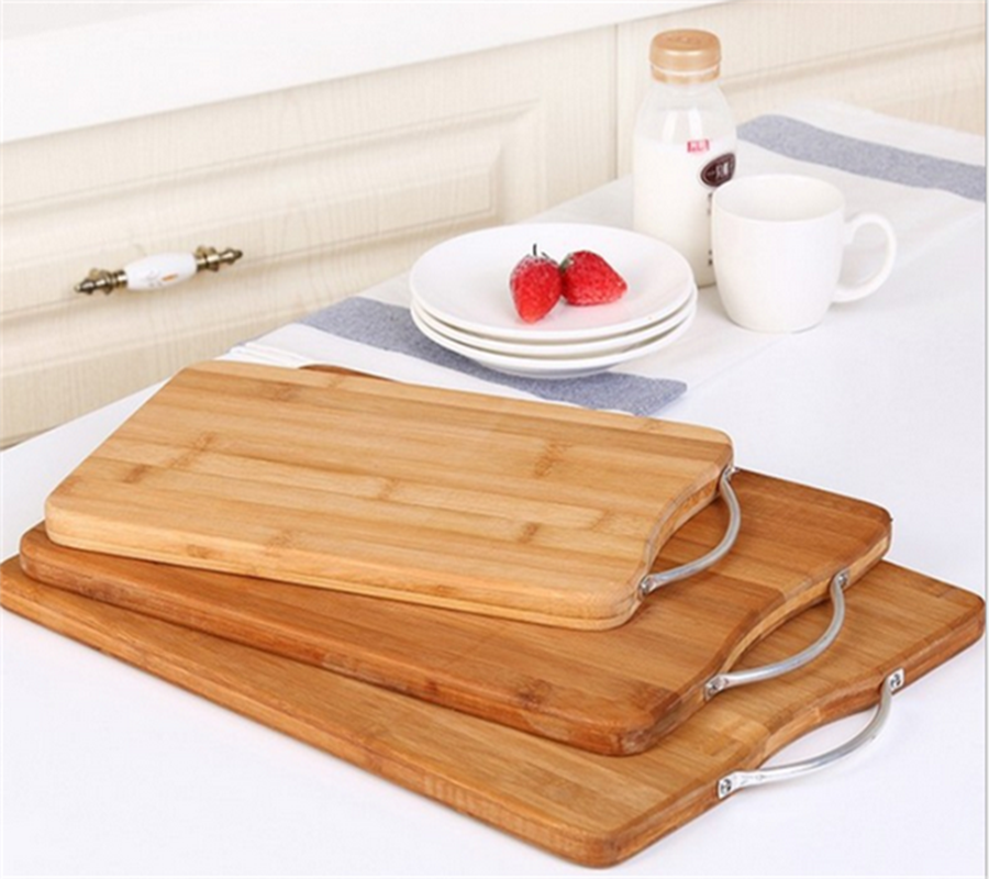 100 Natural Bamboo Cutting Board With