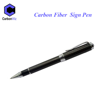 Luxury novel Carbon Fiber ball point pen &Best gifts craft gel pen with real carbon fiber for friends