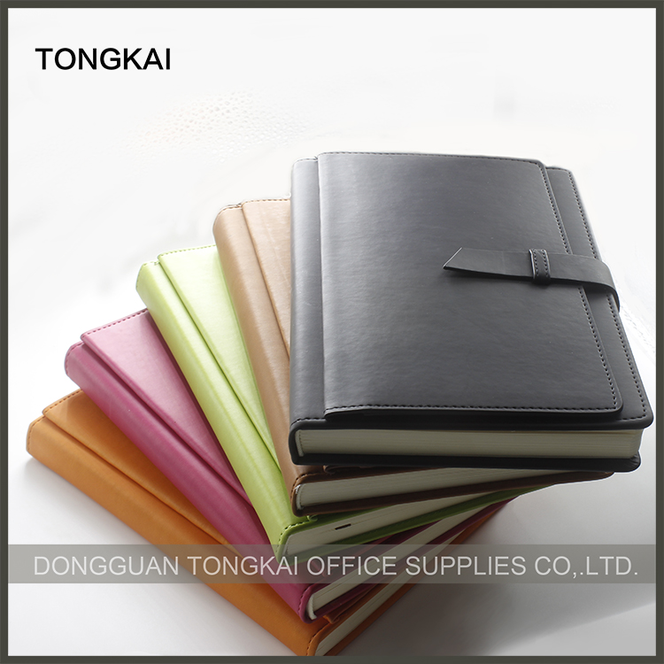 Hardcover Style and promotion/gifts,Promotion Usage A5 PU Kraft notebook