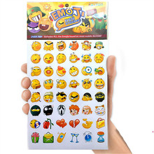 16pcs set Emoji Sticker Pack 912 Emoji Stickers Most Popular Emojis For Mobile Phone Kids Rooms