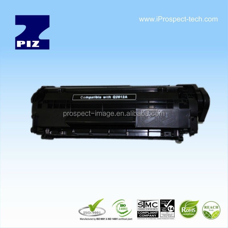 For HP AIO/3052/3055/M1005/M1005 MFP/M1319F MFP Laser Compatible toner cartridge Q2612A with chip