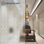 Decorative Art Glass Etching Designs for Partition and Interior