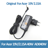 Wholesaler for acer mini laptop charger AD040W rohs charger 19V 2.15A