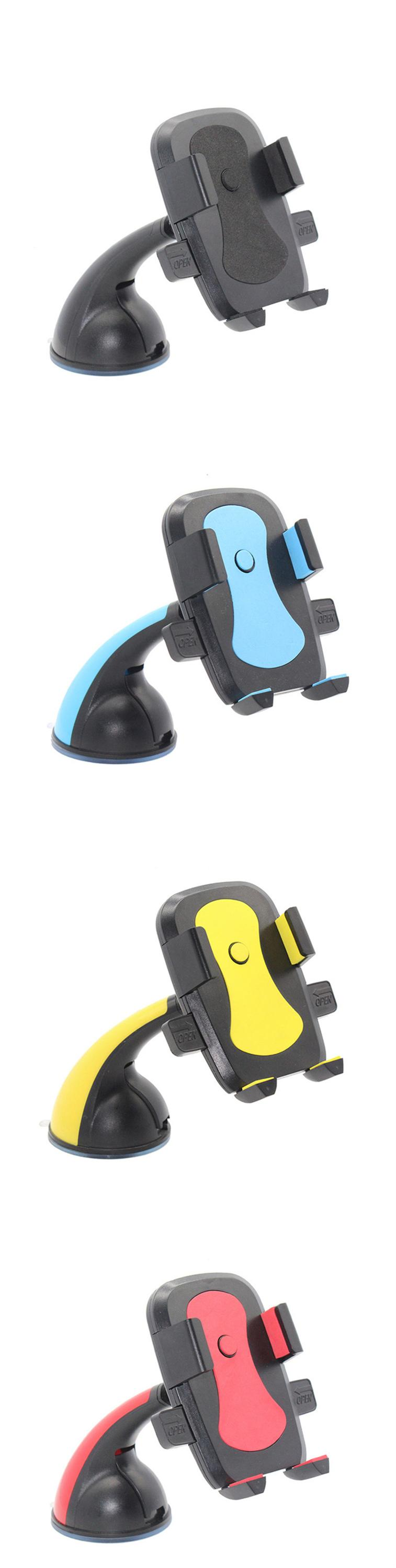 Smart universal 360 mobile phone holder car magnetic car cell phone holder