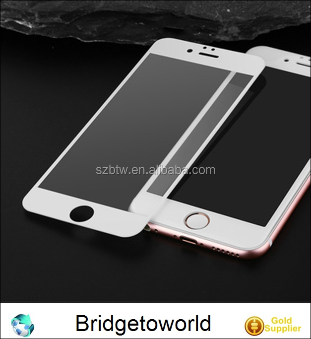 Explosion proof Cell Phone tempered glass screen protector for iPhone 6 6S 7 7plus Rose gold
