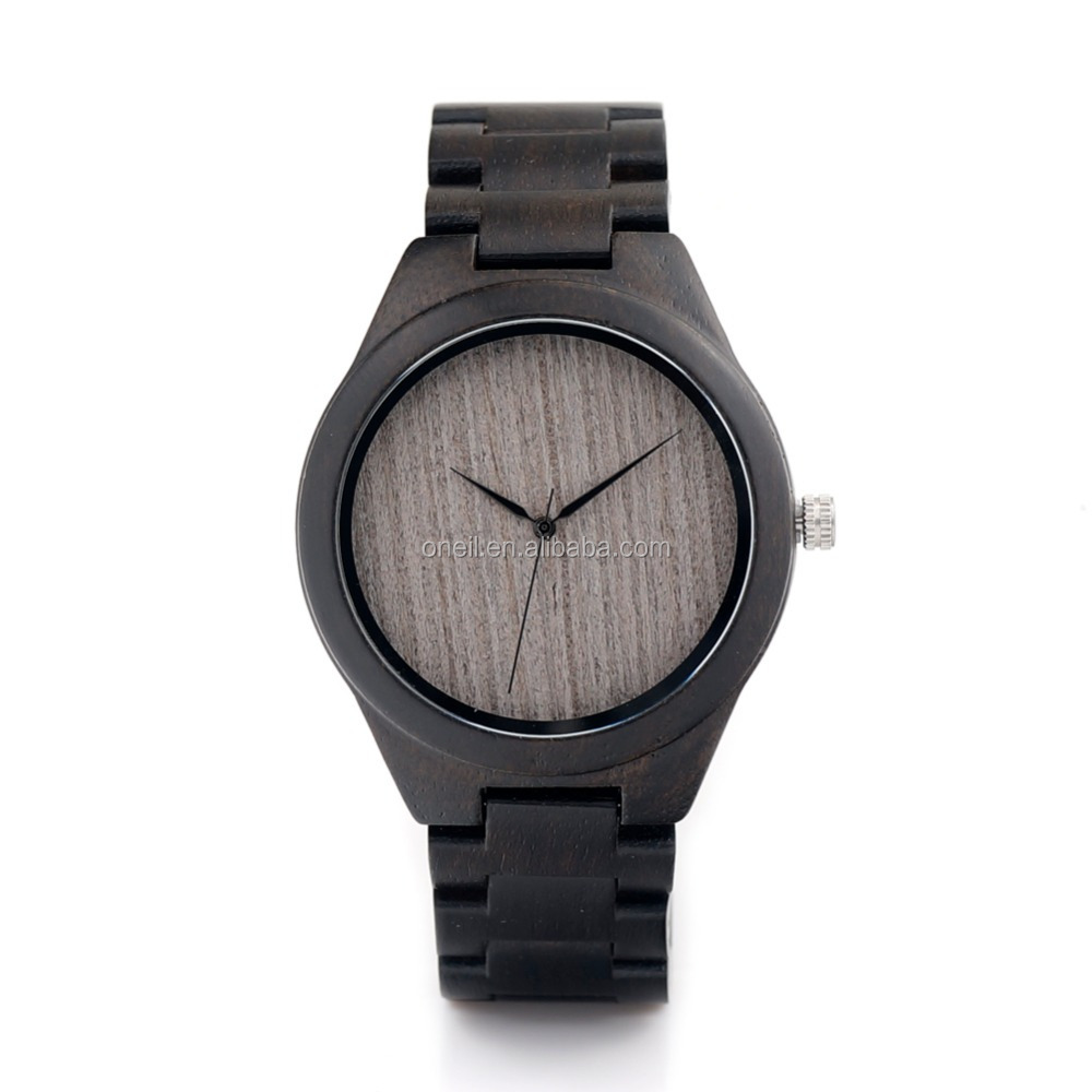 Best Selling 2017 Lovers Wooden Watch For Men Bamboo China custom logo watches men