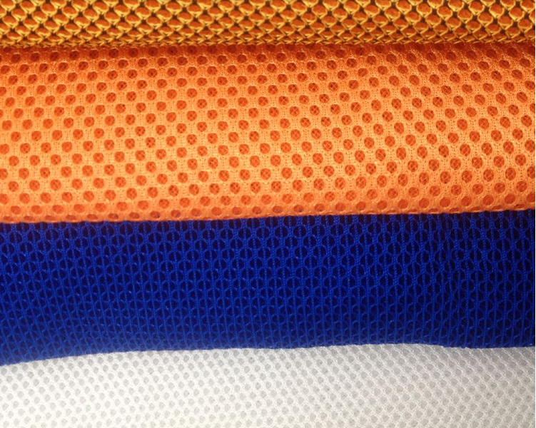 air mesh fabric,0741 sandwich mesh backpack fabric materials