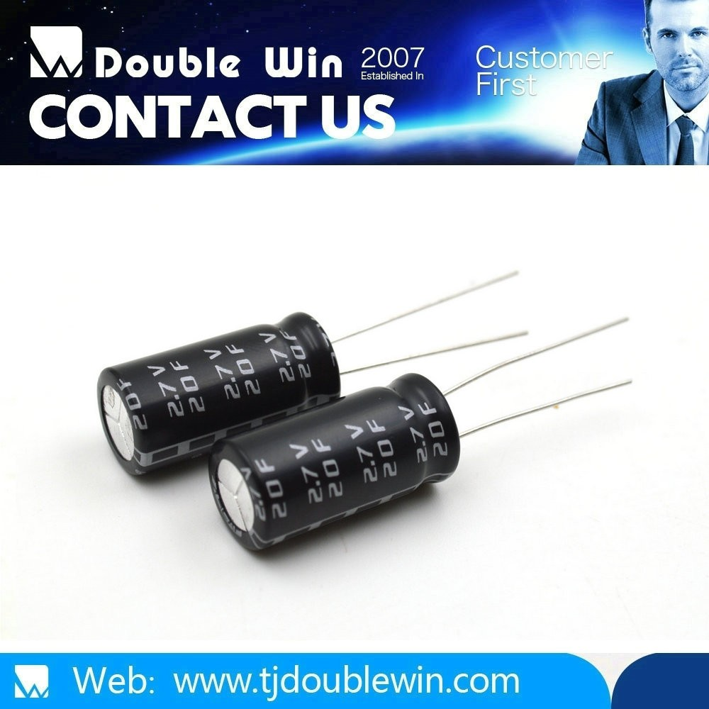 2.7V Long-life Electric Double Layer Capacitor/ super capacitor Manufacturer