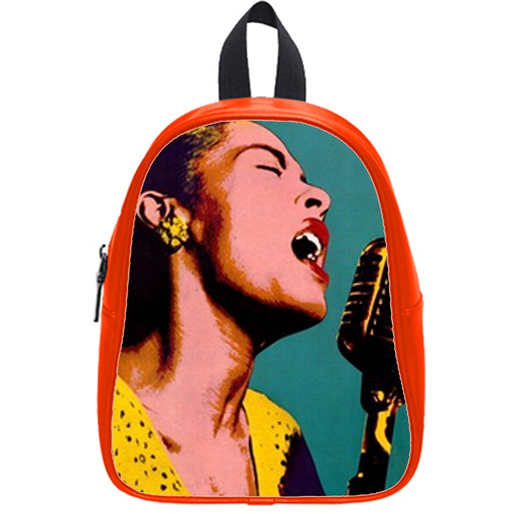 1e3b08d2d3 Get Quotations · Custom Billie Holiday Backpack Students School Bag Outdoor  Backpack
