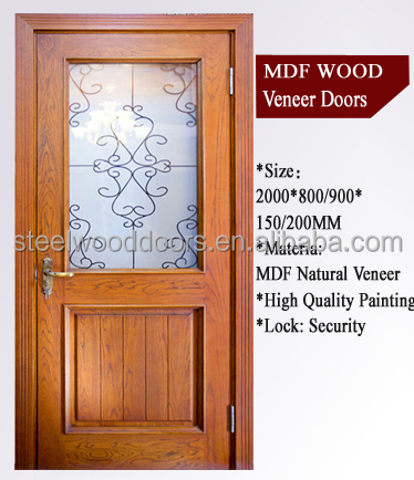 Office main carved solid teak wood door price buy teak for Office main door design