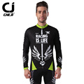 2016 bike new jersey cycle clothing pro bike clothing set autumn men bicycle jersey black sword