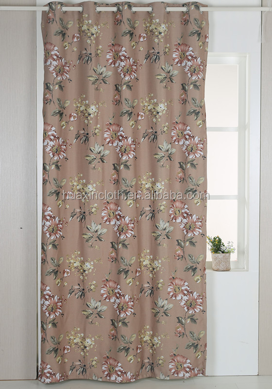 latest window designs blackout curtain