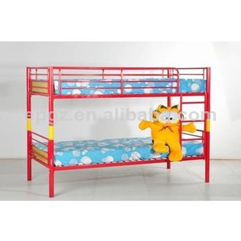 Red Color Batman Metal Bunk Bed For Sale - Buy Metal Bed,Batman Bunk ...