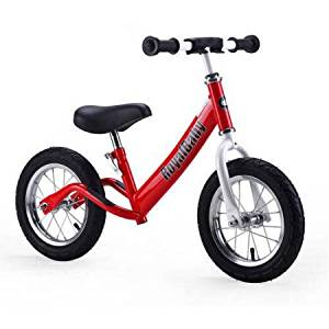 Royalbaby 12 inch Kid's Bike, Boy's Bike, Girl's Bike Balance Bike, Running Bike, Push Bike, No Pedal Bike, Green