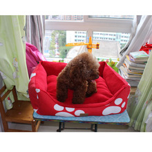 Extra Large Ivory Waterproof pet carrier bed with different color