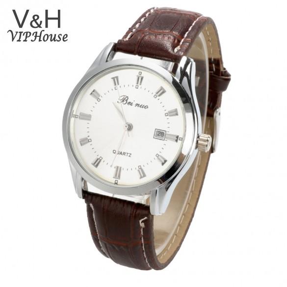Мужские кварцевый нержавеющая сталь точность военный мужчины часы бизнес наручные часы водонепроницаемый, 3 цвета 50