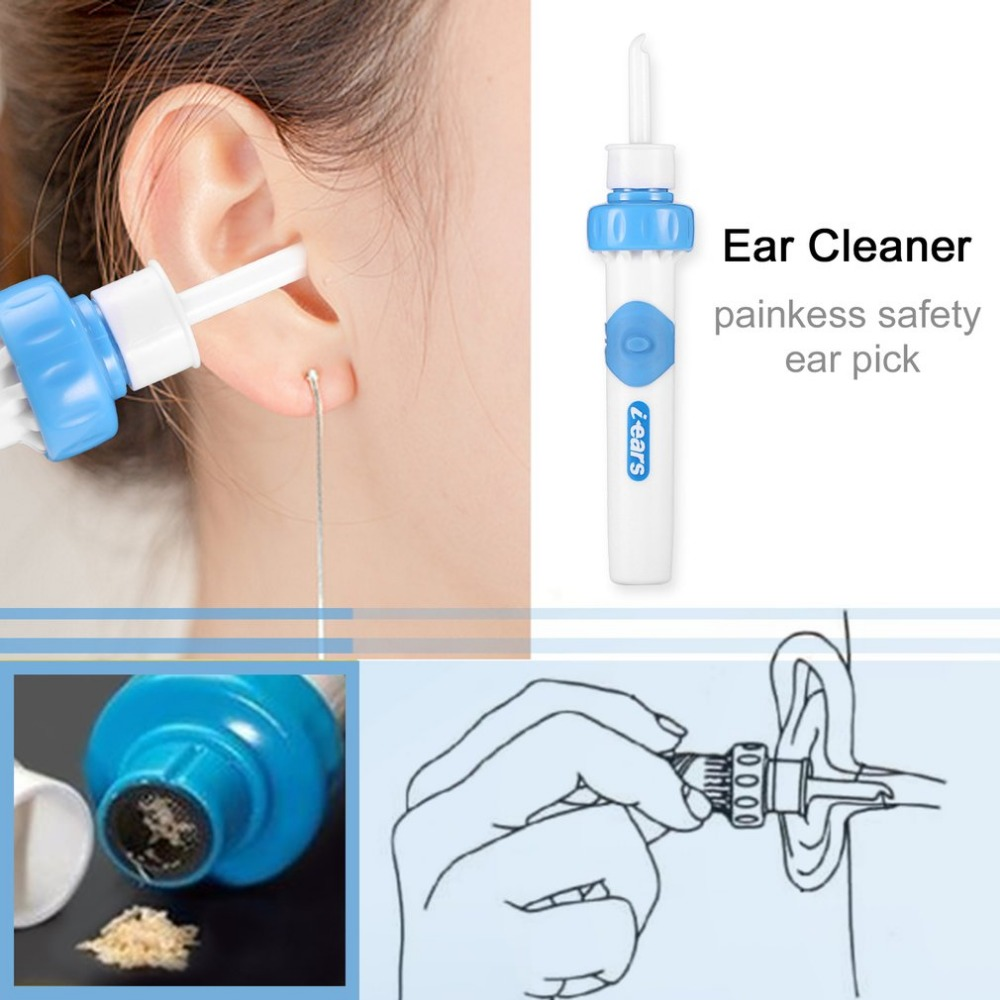 Basic Design Cheap Electric Ear Cleaner Ear Vacuum Cleaner Extra Ear Wax Remover