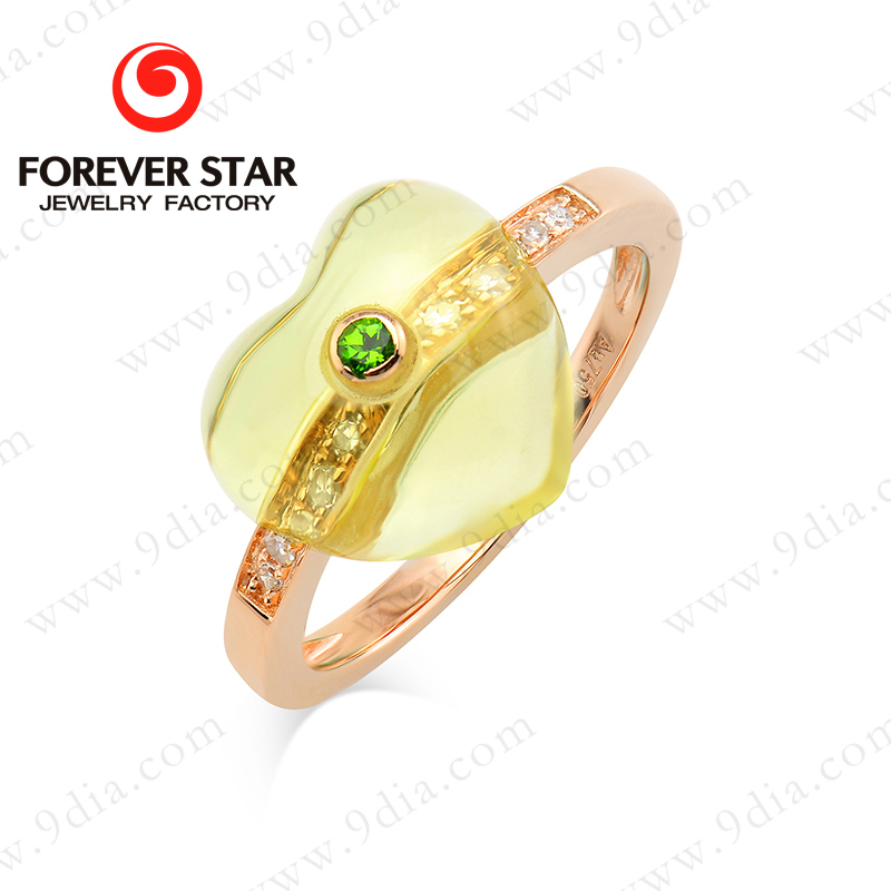 2017 Hot Sale 10K Latest Gold Ring Designs for Girls, View gold ...