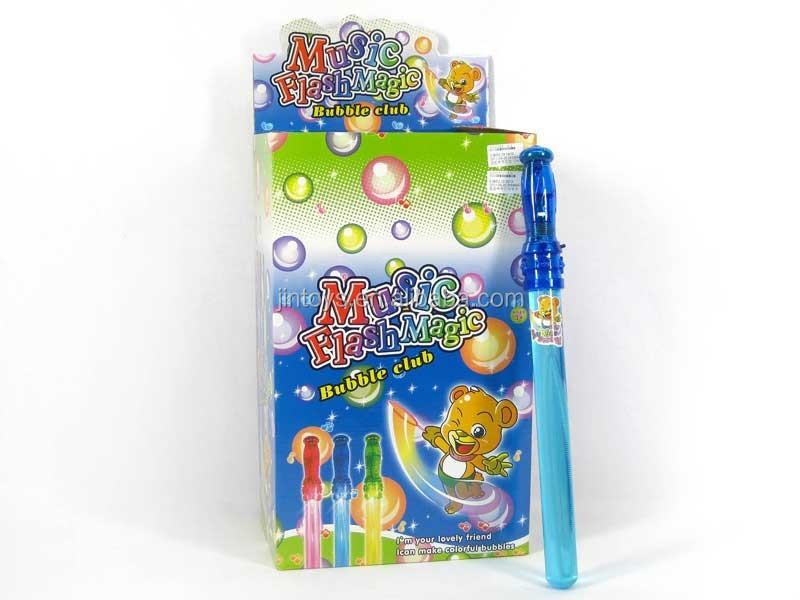 24 Pcs Kids Funny Plastic Led Bubble Toy Musical Flash Magic Toy ...