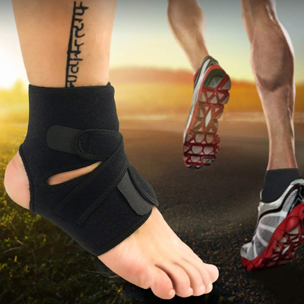 6e9b16d8f868b Get Quotations · Foerteng Ankle Support Breathable Sports Safety for Ball  Games Running Fitness(1 PCS)