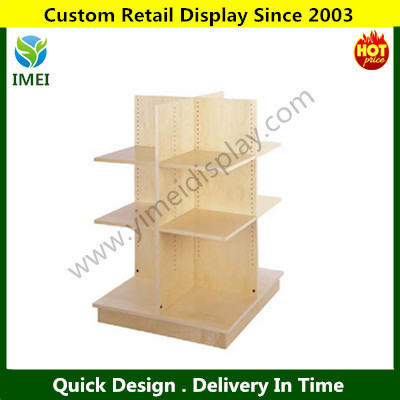 POP customer design wood fruit / bread / hot food display cabinets