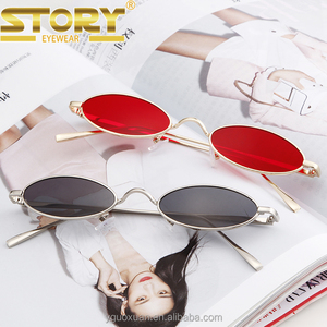 STORY STY1847M custom shaped sunglasses new small colorful women trendy sunglasses UV400