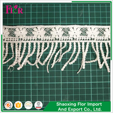 High grade bersertifikat pabrik pasokan beaded <span class=keywords><strong>tatting</strong></span> indah cord elastis mutiara baded poly cotton lace potong