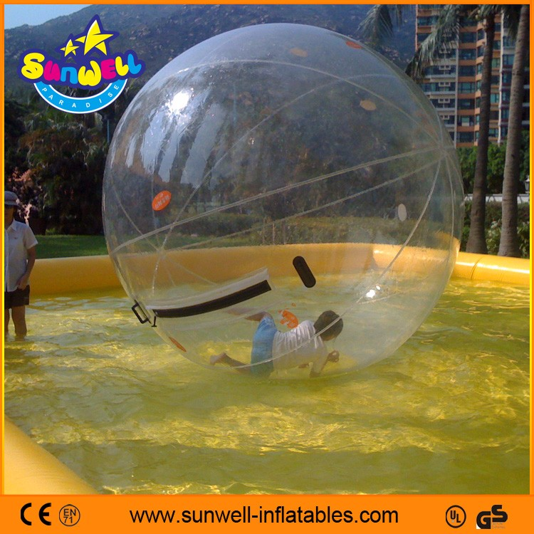 40c936fa23 Tpu Claro Esfera Inflável Da Água