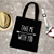 Fashion Design Printed tote bag Reusable and canvas Shopping Eco-friendly bag