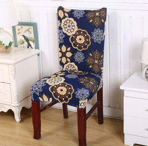 hot sale cheap chair cover home flower new designs chair cover