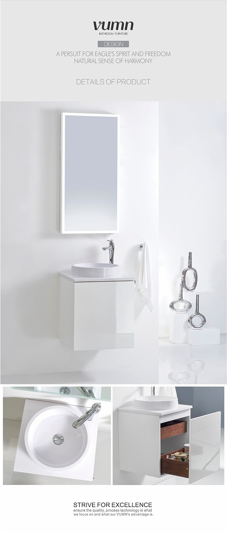 Fantastic DUBAI, UAE  July 3  Vanities And Vessels Bring An Airy And Light Feel To Your Bathroom The Wide Rim Of Both Connect Air And Tesi Basins, Along With The Ample Storage Space Provided By The Furniture Basin Units, Result In Creating An