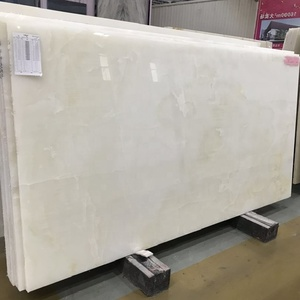 Snow white onyx jade price for slabs and tiles