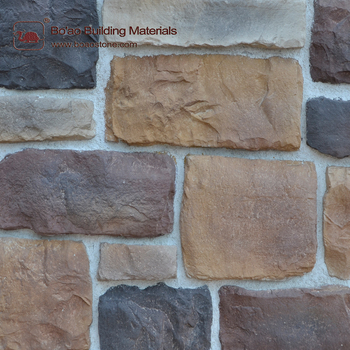 China Supplier Big Slab Stone Artificial Rock Fake Stone Reef Wall - Fake rock flooring