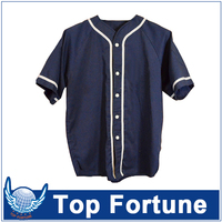 blank baseball jerseys wholesale for man