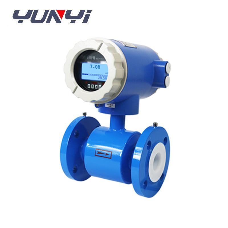 China LCD Digital water Electromagnetic Flow Meter sensor