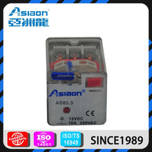 Asiaon AS80.3 11pin electromagnetic types of electrical relays
