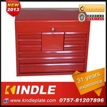 Kindle custom waterproof Stainless steel 72 inch wooden top tool box over 30 years experience