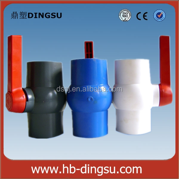 Types of Plastic Ball Valve, Manufacturer Supplied PVC Plastic Ball Valve