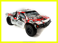 1/10 scale off road racing 4WD Nitro Powered RC Truck
