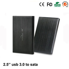 """2015 hot hdd box Aluminum USB 3.0 micro-mini suit hdd ssd to 2.5"""" inch sata up to 1TB support 7mm 9.5mm Laptop hdd case"""