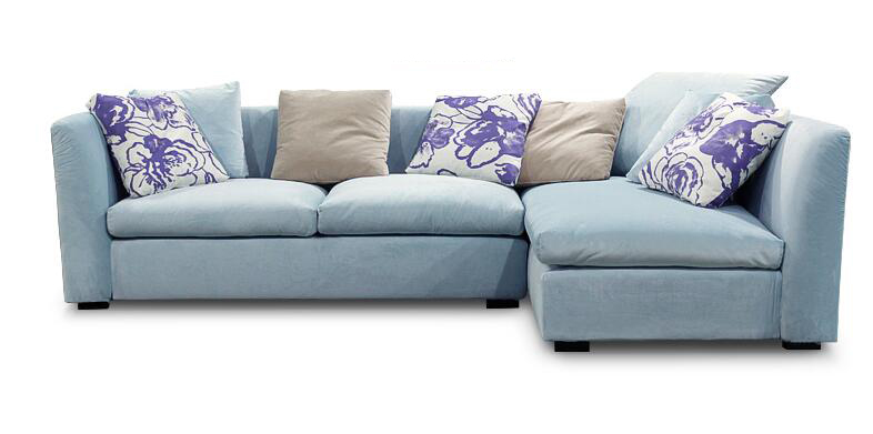 Modern Living Room Furniture Set Down Feather Sectional Sofa Sleeper