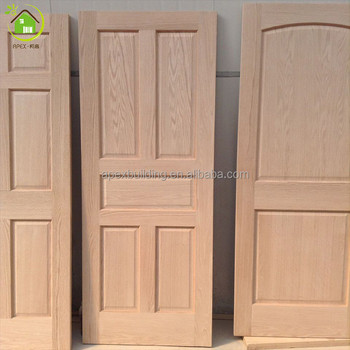New design interior door pvc coated mdf wooden doors for for Wood door design 2016