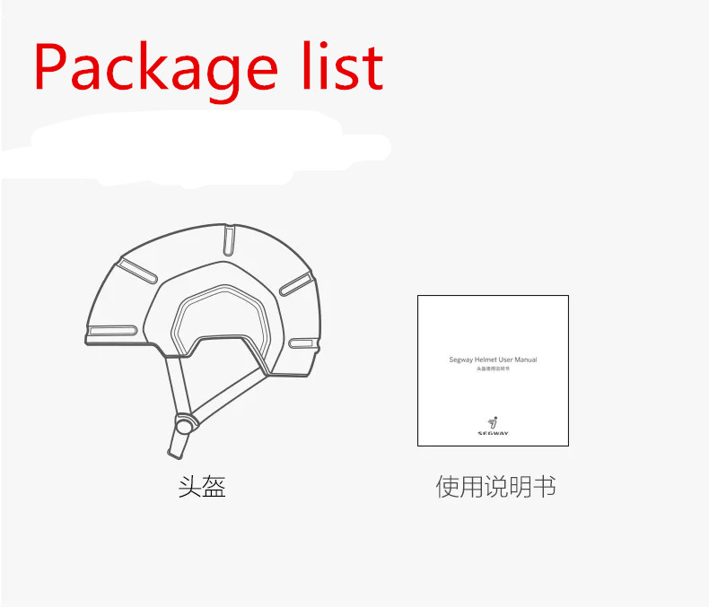 Original Ninebot Scooter Xiaomi Scooter helmet adult child city light riding helmet riding Scooter protection equipment