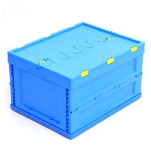 collapsible storage clevermade car bin food container with lid box bin boxes for Logistics transfer