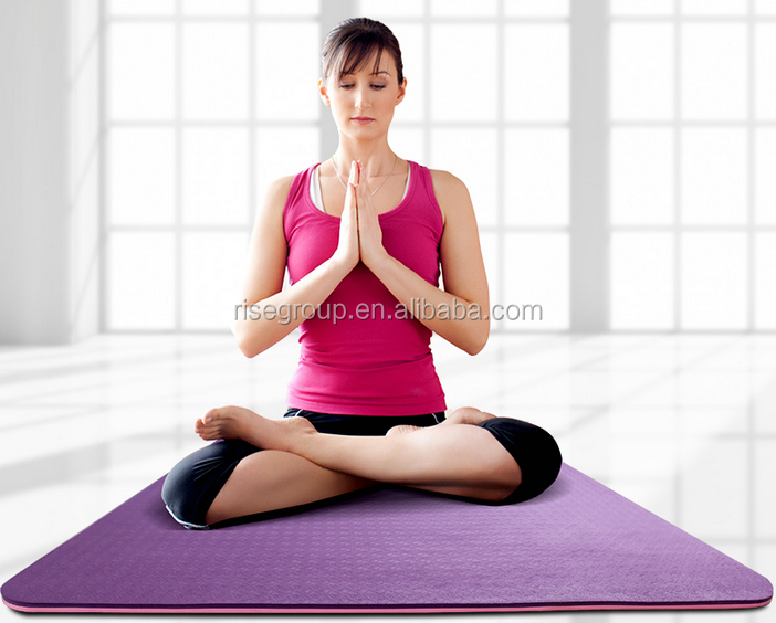 ECO 6mm anti slip TPE yoga mat