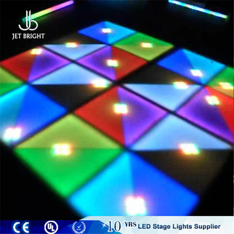 P10 RGB led wireless connection outdoor portable ow to make a dance floor on grass