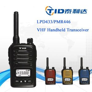 Colorful license free handheld uhf two way radio usb 433mhz transceiver