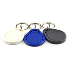 Customized 13.56Mhz RFID Security Smart Keyfob MIFARE Classic 1K/4K Chip Key Tag RFID Key Fob